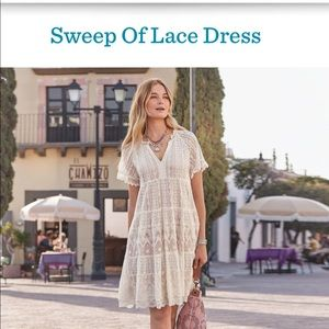Sundance sweep of lace dress